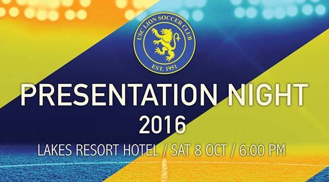 Presentation Night 2016