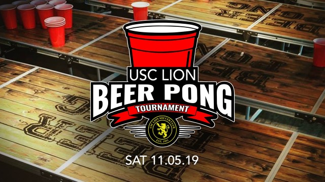 USC Lion Beer Pong Tournament 2019