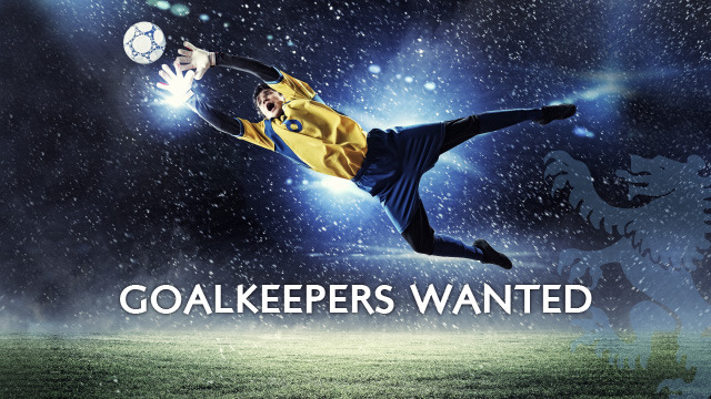 GK wanted