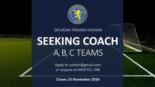 USC Lion Soccer Coach 2017
